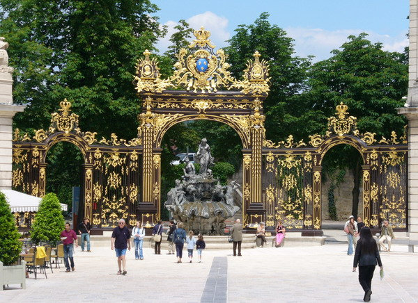 Nancy-place-stanislas-suedスタニスラス広場