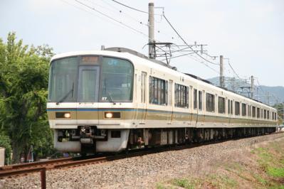 奈良線221系 表紙