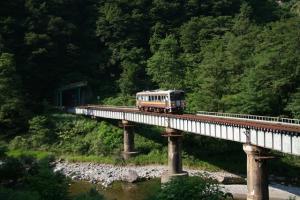 中土 北小谷間 鉄橋