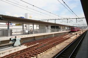 姫路駅 播但線ホーム 100905
