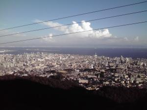 神社からの眺め 100831