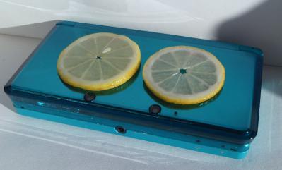 3DSレモンパック中・・・