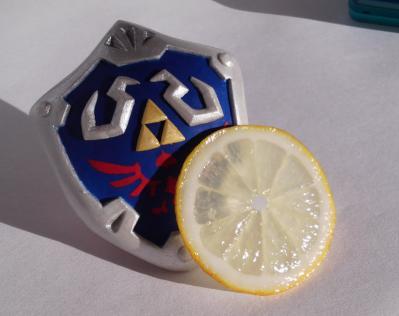 ハイリアの盾とレモン