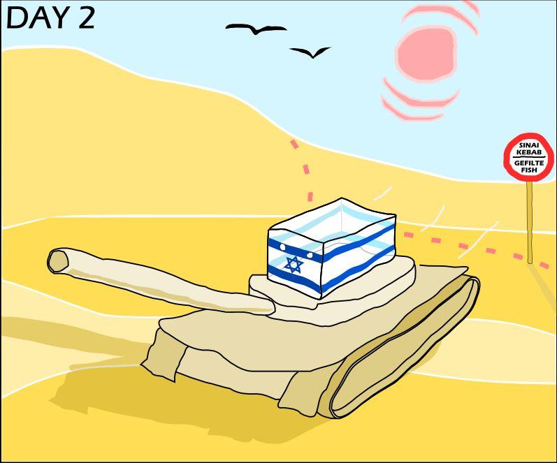 6日戦争へのロシアンアドバイス (1)