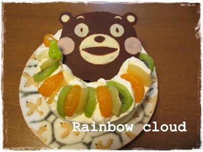 くまモンケーキ