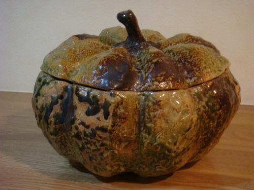 かぼちゃ蓋物①