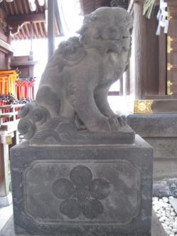 戸隠神社吽
