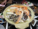 モッチーお手製海鮮鍋