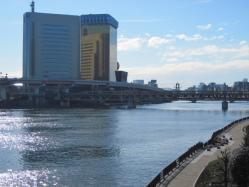 言問橋から見た隅田川