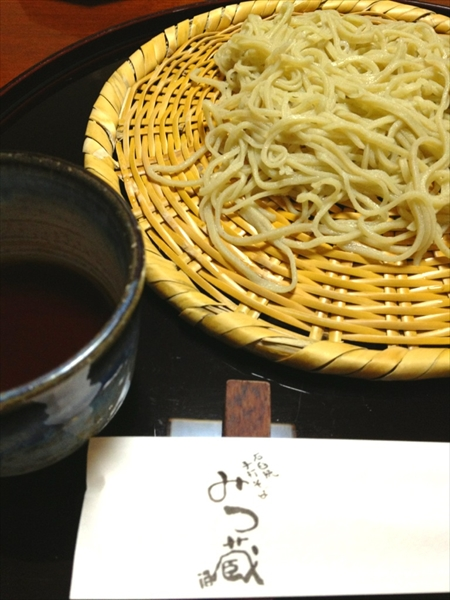 蕎麦 みつ蔵