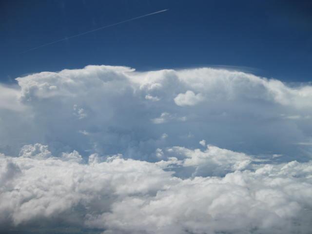 雲の壁・・・