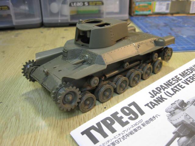 97式中戦車改の1