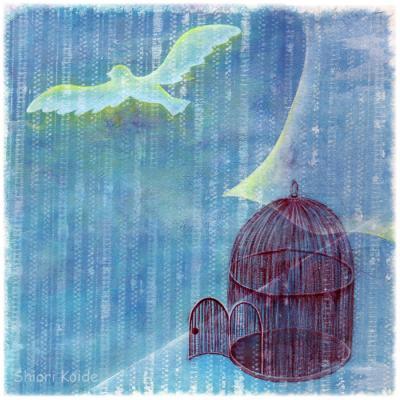 「籠の鳥」