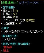 速度19レザースーツDX
