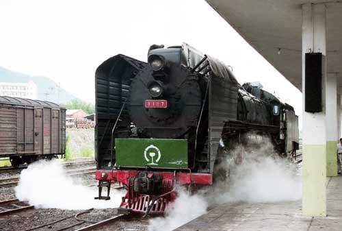 中国三茂線QJ1167(前進)-肇慶-[0000852]