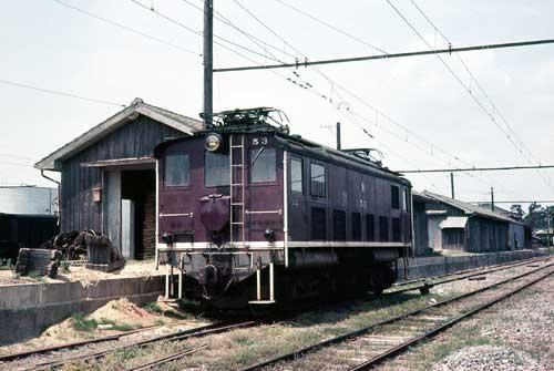 豊橋鉄道デキ53(改番前-元・田口鉄道)-[9000623]