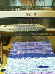 機織り機加工