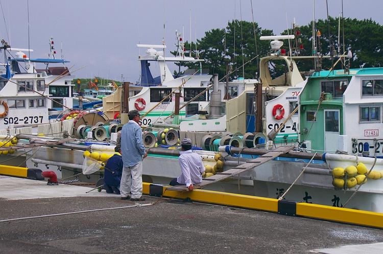 漁港の風景 1
