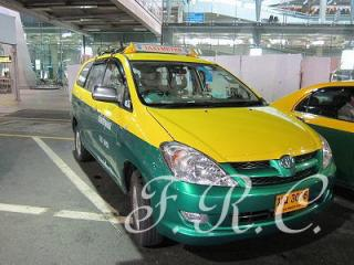 バンコク交通taxi観光ツアータイランド