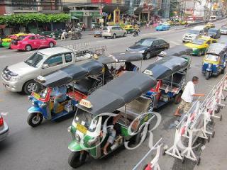 タイランドバンコクトゥクトゥクTAXI交通移動