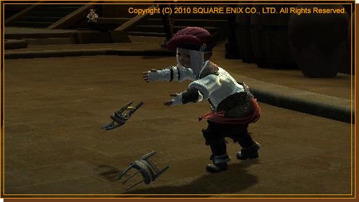 No.05 格闘武器を直接投げつける大技