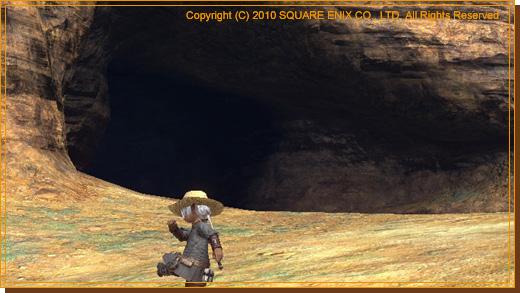 No.37 洞窟を発見