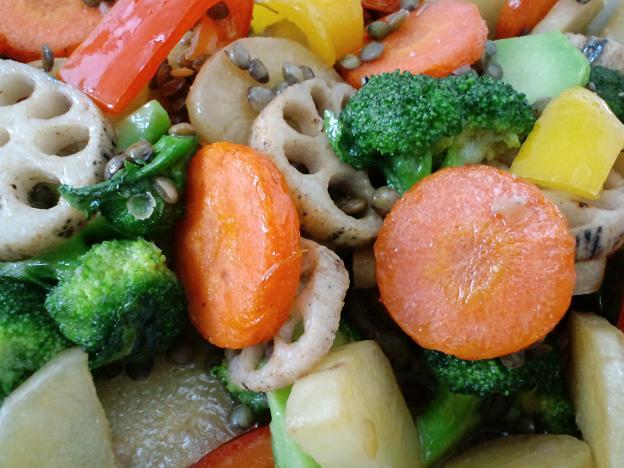 ごろごろ野菜の洋風マリネ