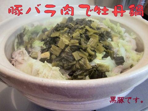 牡丹鍋風~