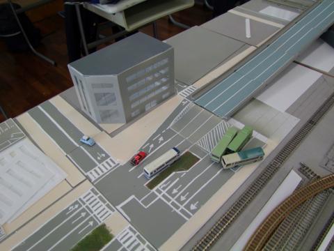 都市道路製作中1