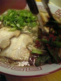尾道ラーメン「鳶」チャーシュー麺