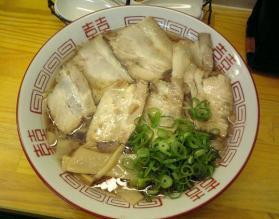 尾道ラーメン「鳶」チャーシュー麺2