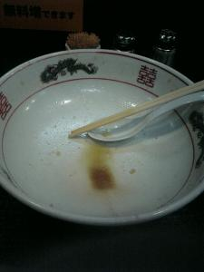 岡山市一番街の二郎ラーメン系店「ダントツラーメン」5