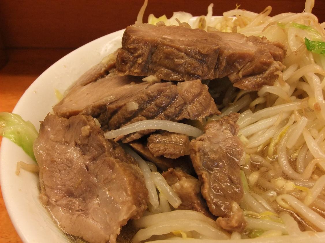 ラーメン二郎 立川店:豚 10.05.22