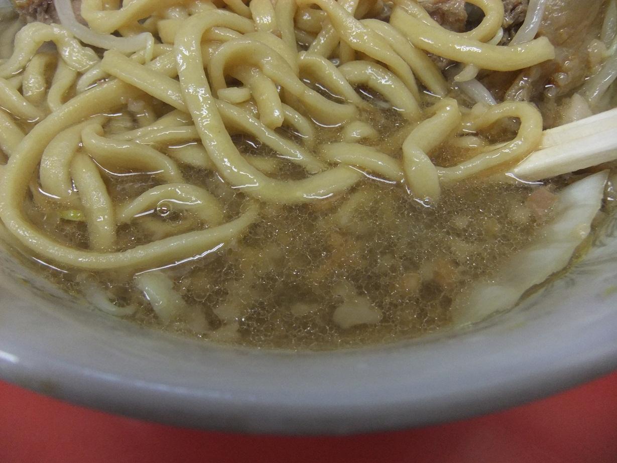 ラーメン二郎 小岩店:スープ 10.07.07