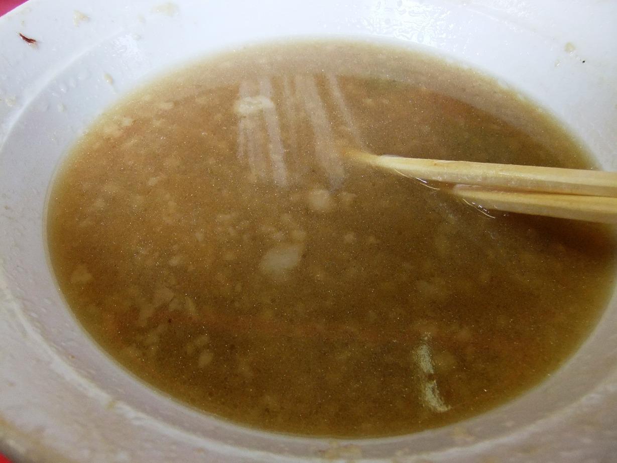 ラーメン二郎 大宮店:スープ 10.08.15