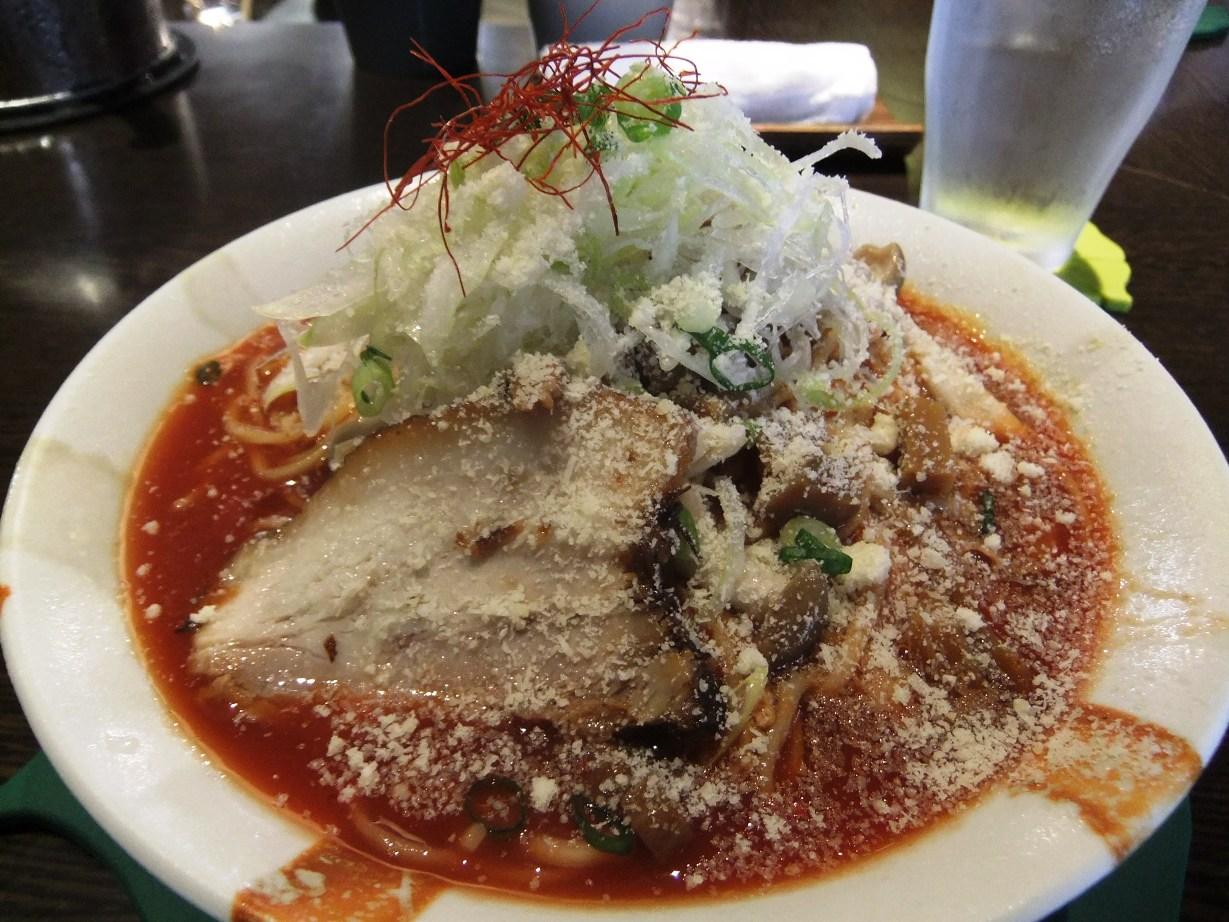 くろく:ガリトマト麺 10.08.20