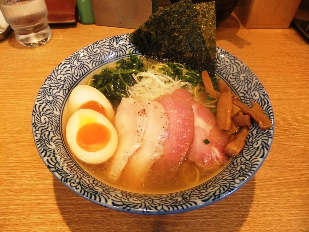 麺屋 一燈:特製芳醇香味そば(塩) 10.09.26