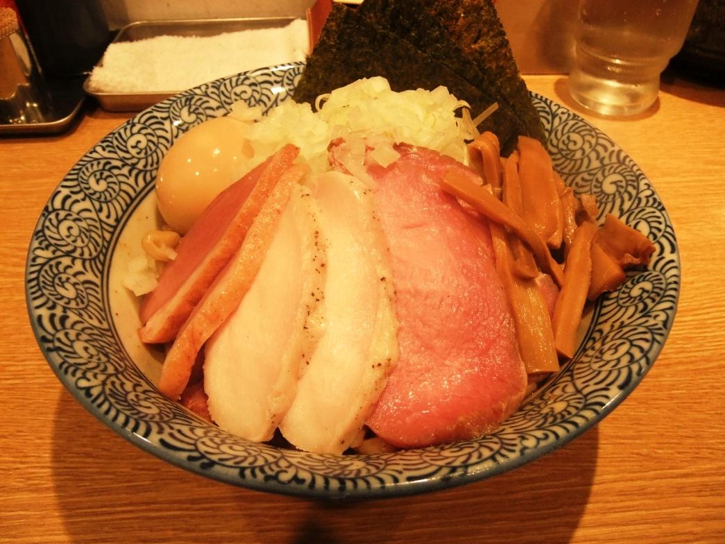 麺屋 一燈:汁無し鶏白湯そば 10.09.26