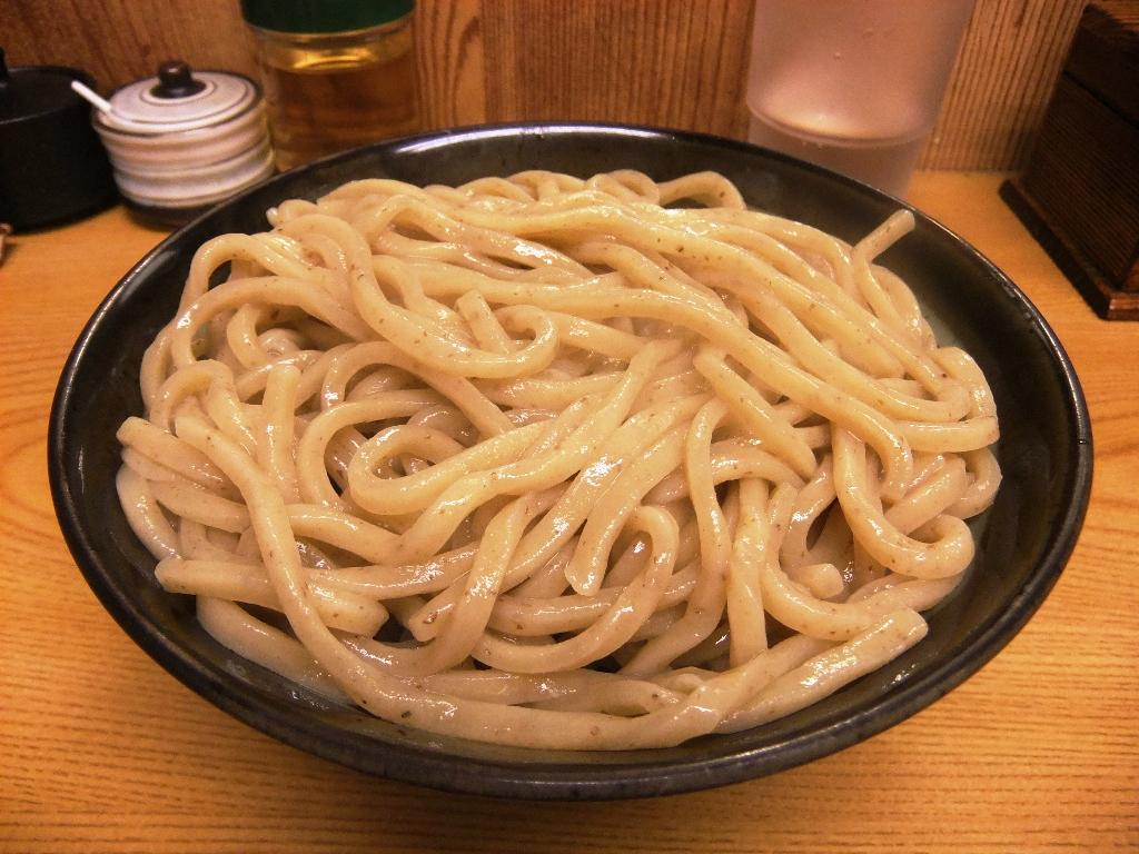 つけめん 三三七:麺① 10.10.05