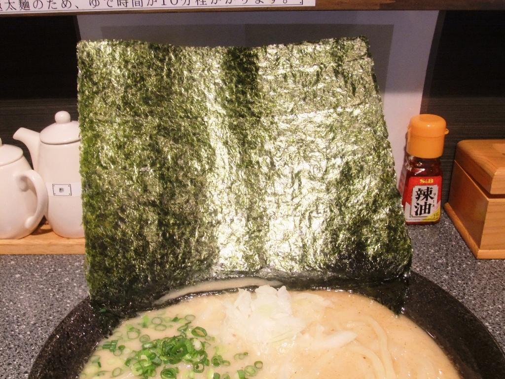 ラーメン厨房 麺バカ息子 徹:海苔 10.11.22