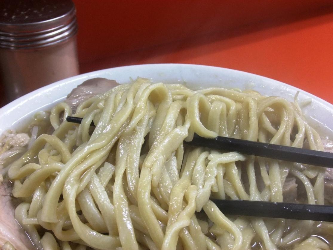 ラーメン二郎 神田神保町店:麺 10.11.30