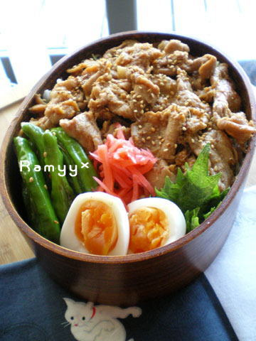 豚肉の生姜焼き丼