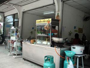 サムイ島の麺屋台
