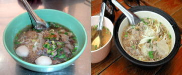 サムイ島の屋台麺