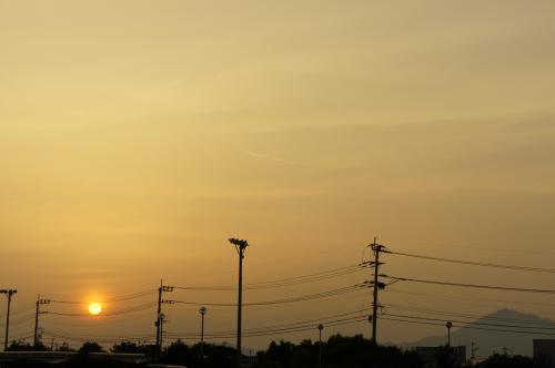 夕陽クレア