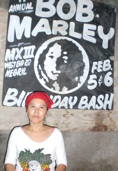 Rankin Pumpkin Yoko in Negril Bob Marley Birthday