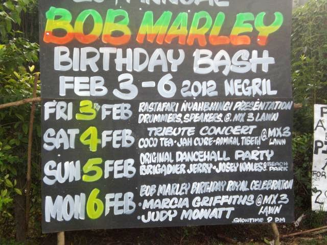 Bob Marley Birthday in Negril MX3