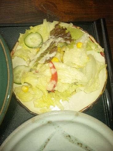 秋保 珈琲館 サラダ