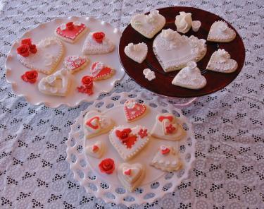Valentineのクッキー