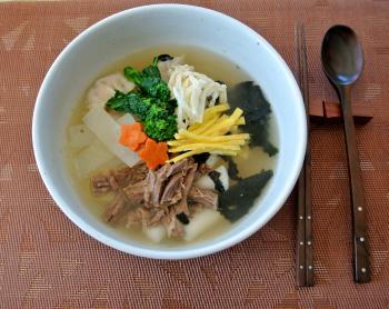 韓国の雑煮